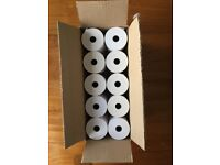 Till Rolls. 10 boxes of 20. 57mm Size.