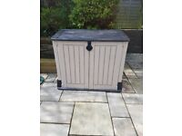 Plastic storage shed 2ft x 4ft