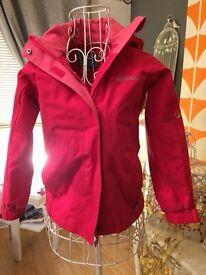 Girls mountain warehouse pink jacket. 5-6 years