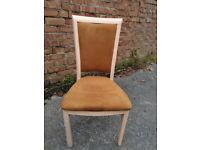 Ochre Dressing Table Chair