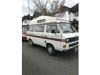 LHD 1990 VW T25 AUTOSLEEPER TRIDENT 4 BERTH NEW ENGINE FITTED 30,000 MILES AGO