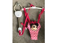 Baby girl Minnie Mouse door swing as new