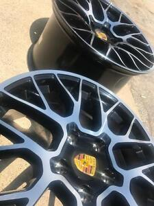 "$899 (Tax-In) - NEW 19"" Porsche GTS reps (5x130) - PORSCHE 911/ Boxster/ Cayman/ Panamera/ 944/ 928"