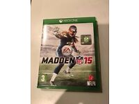 madden 15 , xbox one , as new ! price stands , no offers !