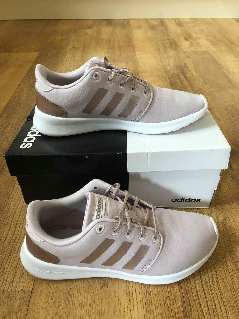 Genuine Ladies Adidas CloudFoam QT Racer Ice purple trainers. Excellent, as new condition. Size 7   in Keighley, West Yorkshire   Gumtree