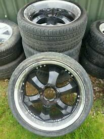 "22"" alloy wheels"