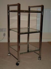 John Lewis 'Shine Shelf' Mobile Shelving Unit