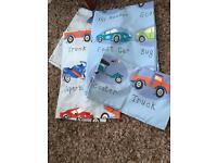 Next kids bedding and curtains