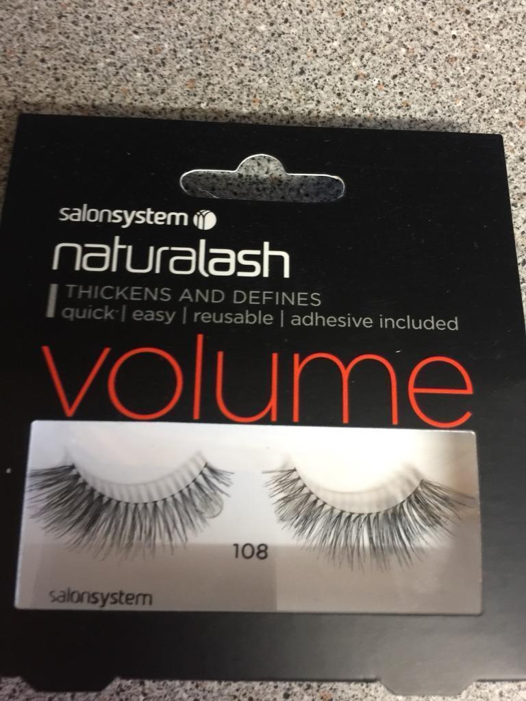Natural Lash Volume By Salon System Fake Eyelashes In Chipping