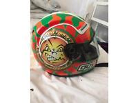 AGV Valentino Rossi Moto GP Imola 1999 Nastro Azzuro helmet