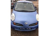 Nissan MICRA k12 2003 Bonnet blue