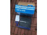 Energer 450w tile cutter 240v with box and accessories