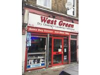 Well Established Dry Cleaners in Seven Sisters For Sale