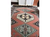 Large authentic Turkish carpet