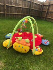 Mothercare caterpillar play mat