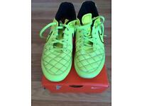Nike leather football boots. Size 7 UK