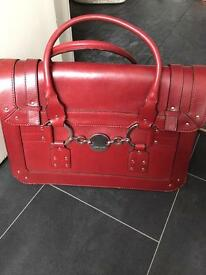 Karen millen red handbag