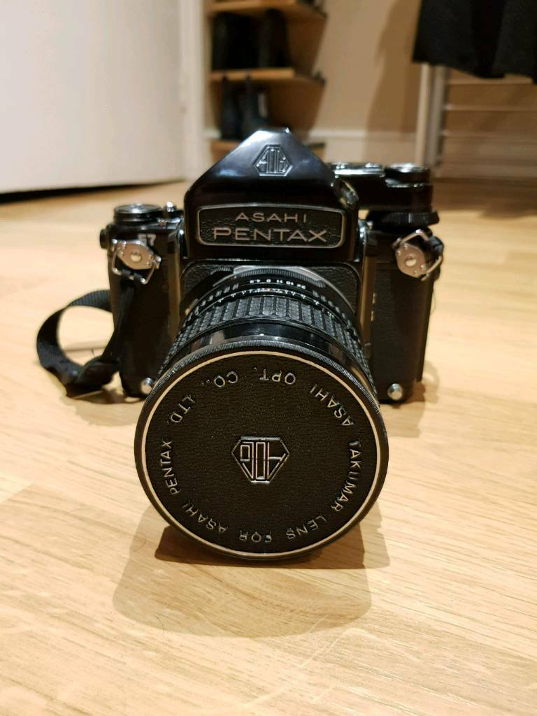 Pentax 67 with metered prism & 75mm 4 5 SMC Lens (Open to Swaps) | in  London | Gumtree