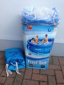 Bestway 10ft Pool with cover and filter pump