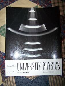 Essential University Physics Volume 1 by Richard Wolfson. 2nd Ed