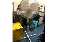 """16"""" PEDESTAL FAN OSCILLATING STAND STANDING COOLING OFFICE HOME COOL AIR 3 SPEED"""