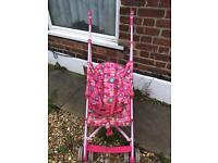 Pushchair/ stroller used but excellent condition