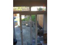 Garden sliding doors