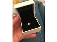 Pandora Flower Ring inc original box