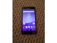 Sony Xperia Z3 perfect condition. Locked to o2