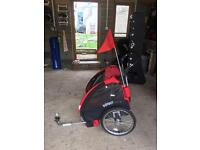 Double child bike trailer - very good condition!