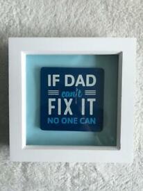 Handmade dad frames £10 each