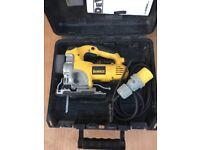Dewalt 110V DW331K. Jigsaw For Sale