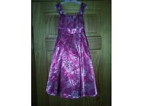 New with tags, Monsoon dress age 11-12, dark pink