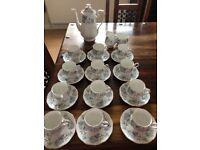 Royal Albert Silver Maple Coffee Set