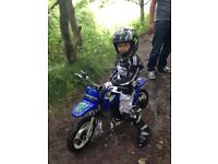 Yamaha pw50 excellent condition,
