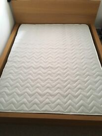 King size IKEA bed with Mattress