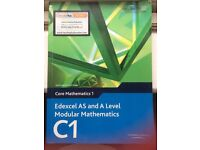 Edexcel Maths C1, C2, S1 books