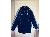 2010 Mens Adidas Real Madrid Winter Jacket size UK 40/42 used but in excellent condition.
