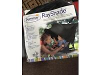 Sunshade, rayshade for pushchair, stroller