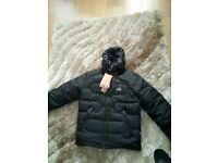 north face. coat