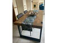 Wood dining table - Next Jefferson