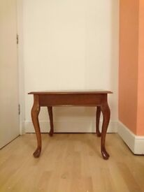 Vintage Table with Queen Anne Legs