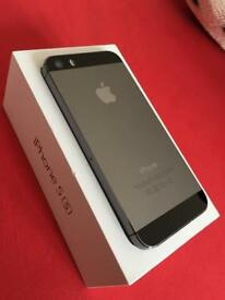 iPhone 5s 16gb Unlocked space grey. Good condition