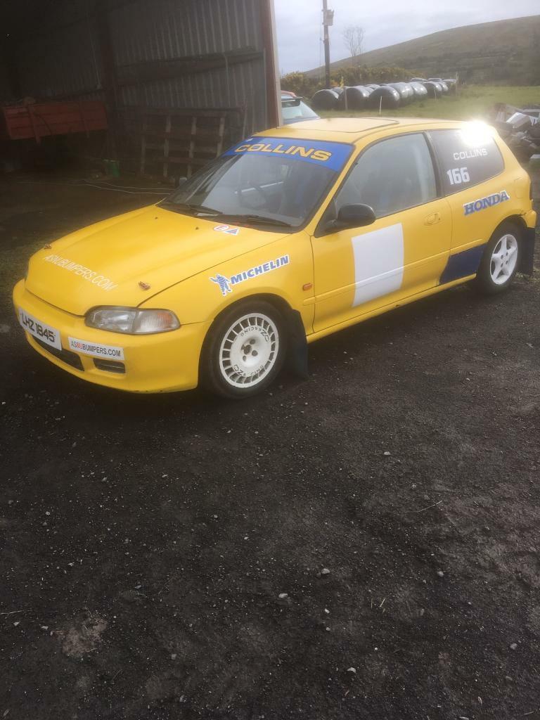 Honda Civic rally car | in Drumquin, County Tyrone | Gumtree
