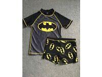 Batman swimsuit 7-8 years NEXT