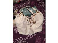 Real Micheal kors handbag white
