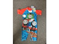 Brand new with tags Thomas the tank swim ware 4-5yrs