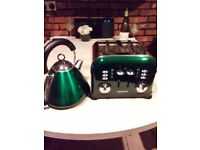 Morphy Richards matching toaster & kettle