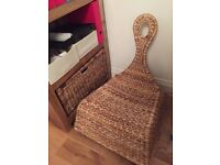 IKEA wicker rocking chair (new)