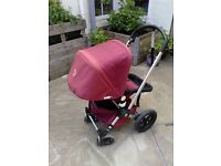 Bugaboo Frog pram with newborn carrycot, good condition